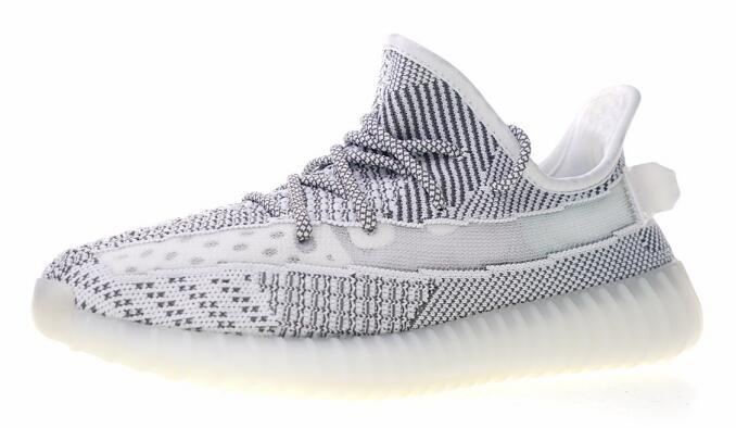 2019 SPLY BOOST 350 V2 static Sesame Yellow Zebra Butter Cream White Black Kanye West Mens Running Shoes Women Sneakers 36 46 With Box