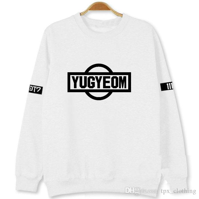 Kim YuGyeom hoodies Got7 group sweat shirts Got it fans 7 clothing Pullover  coat Outdoor autumn jacket Spring sweatshirts