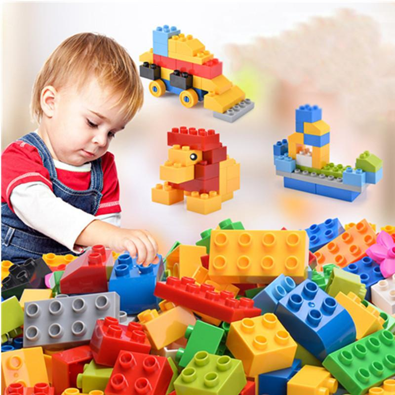251 pieces of large-particle assembled building blocks animal changeable toys 1-6 years old children's puzzle building blocks plastic toys