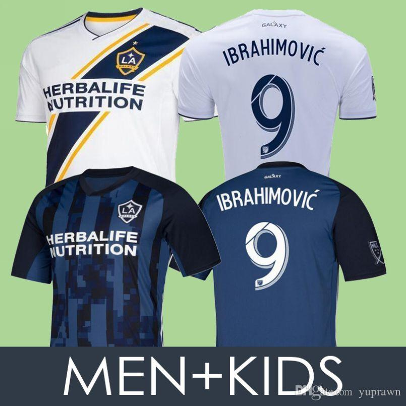 newest be064 1530a MEN KIDS La Galaxy 19 20 Zlatan IBRAHIMOVIC Soccer Jerseys 2019 2020 Los  Angeles Galaxy Long SLEEVE GIOVANI ALESSANDRINI Football Shirts