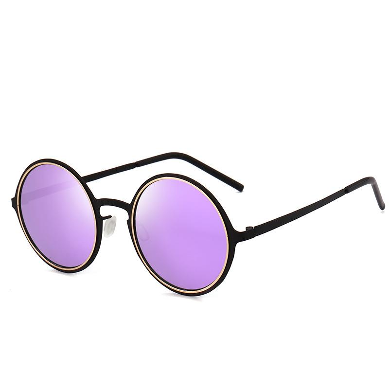 44de71a42c 2019 Hot Brand Sunglasses Luxury Brand Vintage Round Glasses High ...