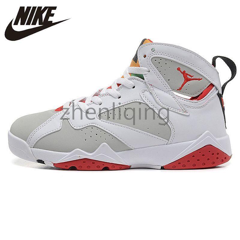 022b92accca 2019 Air Jordan 7 Retro Hare Mens Basketball Shoes 7s Retros Airs Jordans  Sneakers VII Original Non Slip Sports 304775 125 Trainers 451920130 Womens  Sandals ...