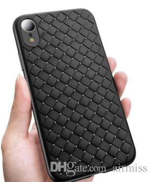 Iphone Exs Phone Case Apple Xr Woven Leather Cover Anti Fall
