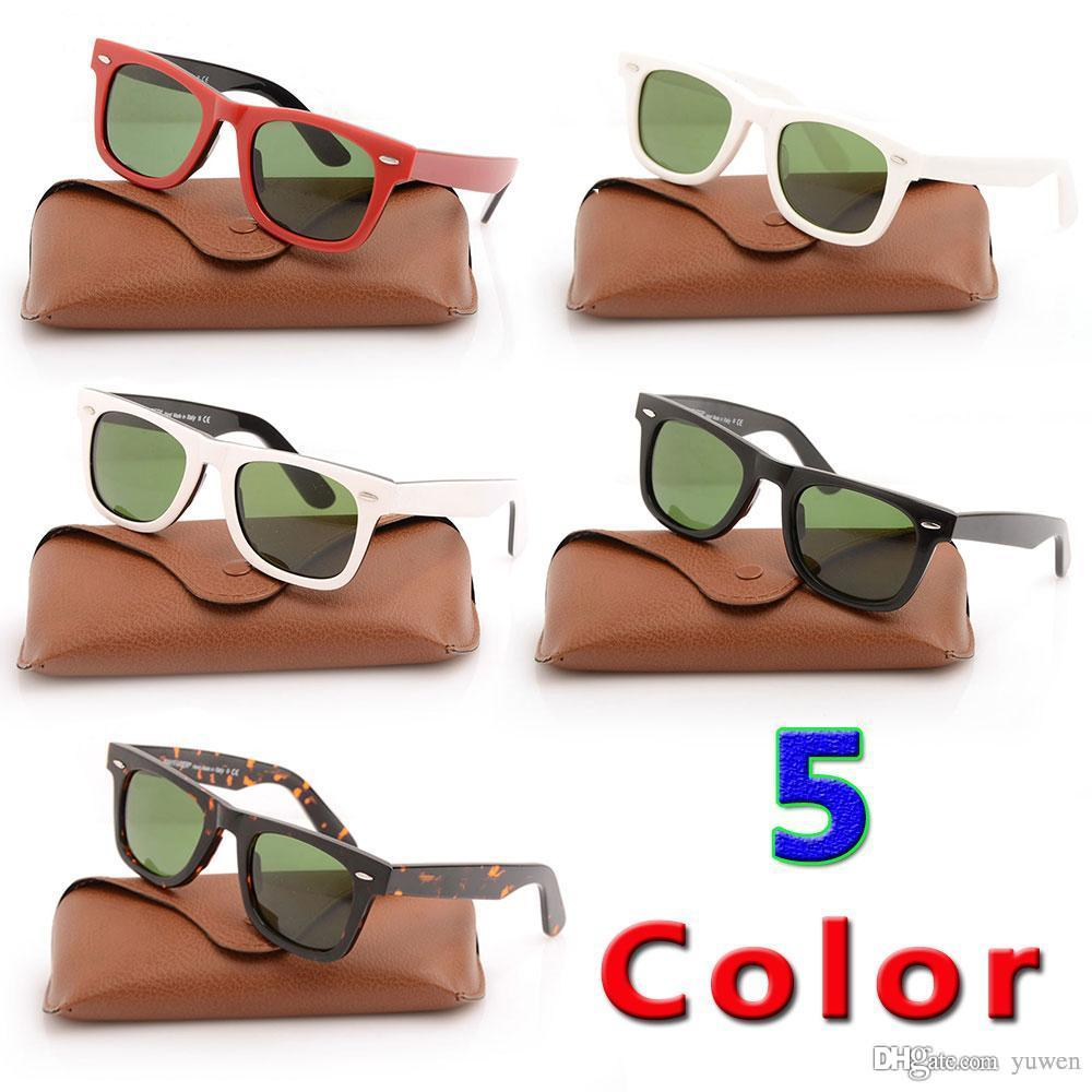 ec24a2ca436 Brand Sun Glassess Green Lens Glasses High Quality Black Sunglasses ...