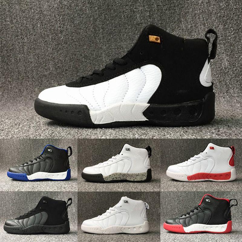 3803bcb40dd4 2017 New 12 Kids Shoes Children J12s Basketball Shoes High Quality ...