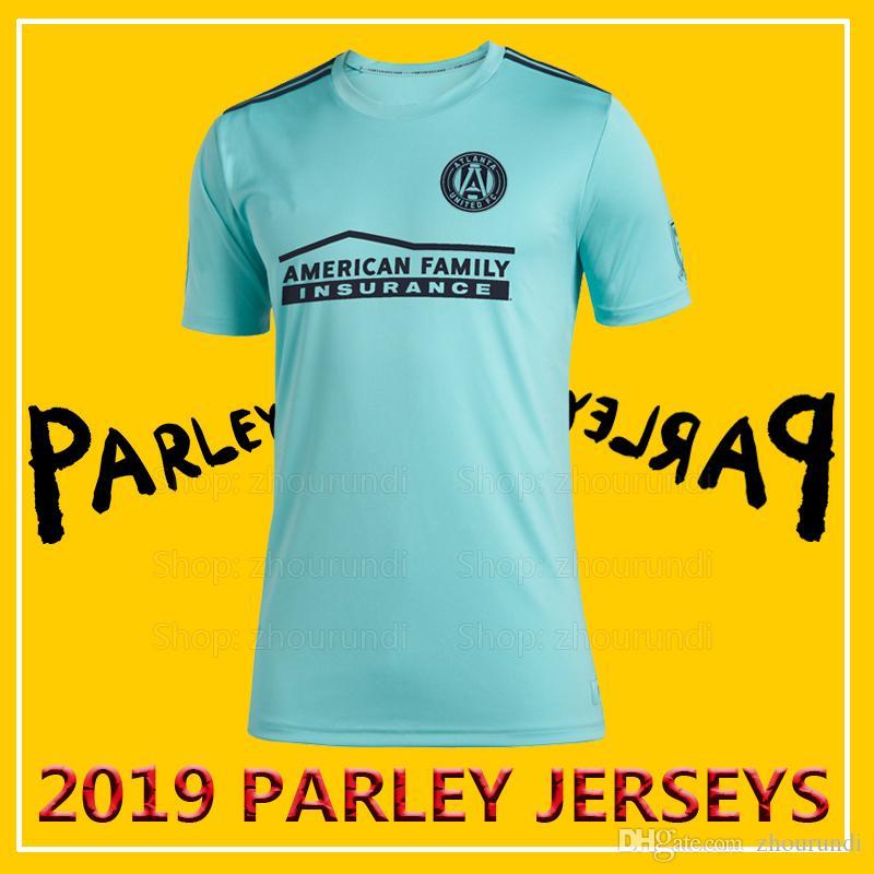 cheap for discount d39f7 e44e0 2019 Atlanta United Parley soccer jerseys Oceans ALMIRÓN atlanta united x  MLS x Parley blue spirit football jersey MARTÍNEZ jerseys XXS-4XL