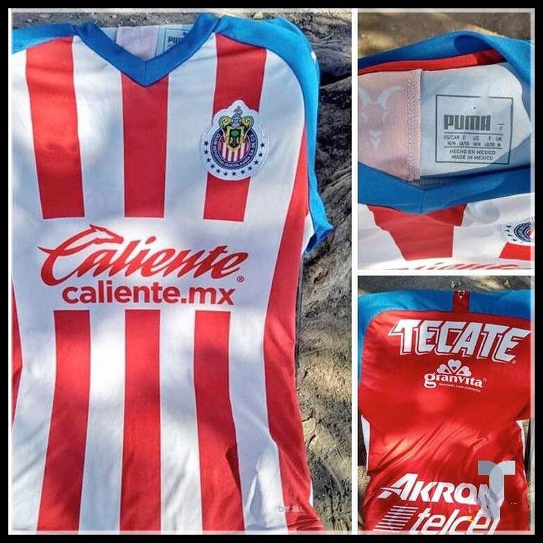 online retailer e5bd2 843b1 new 2019 2020 CHIVAS Guadalajara club world cup LIGA MX Club America UNAM  soccer Jersey Club de Cuervos 19 20 CHIVAS Red football shirt