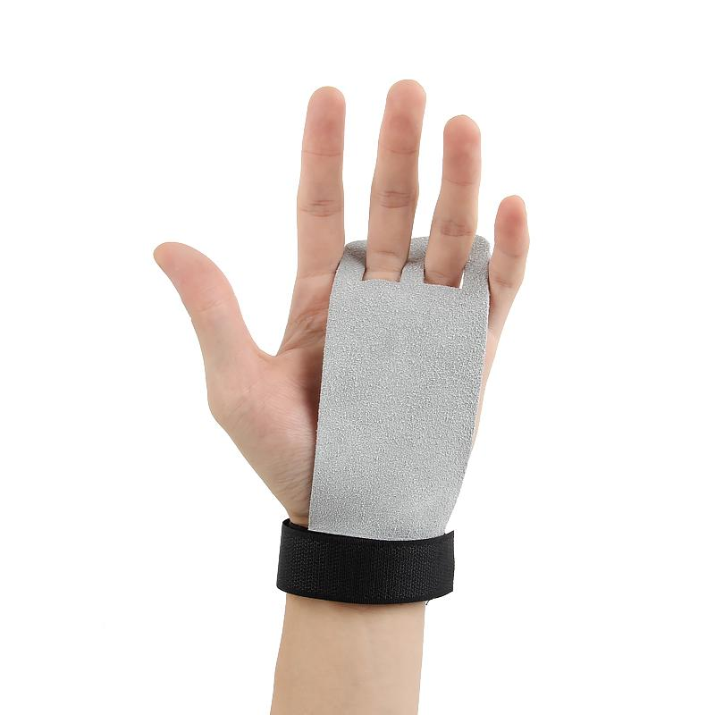 0b7cc9d45e58 2019 Hand Grip Synthetic Leather Crossfit Gymnastics Guard Palm Protectors  Glove Pull Up Bar Weight Lifting Guantes Gym Gloves From Pond, $8.05 |  DHgate.Com