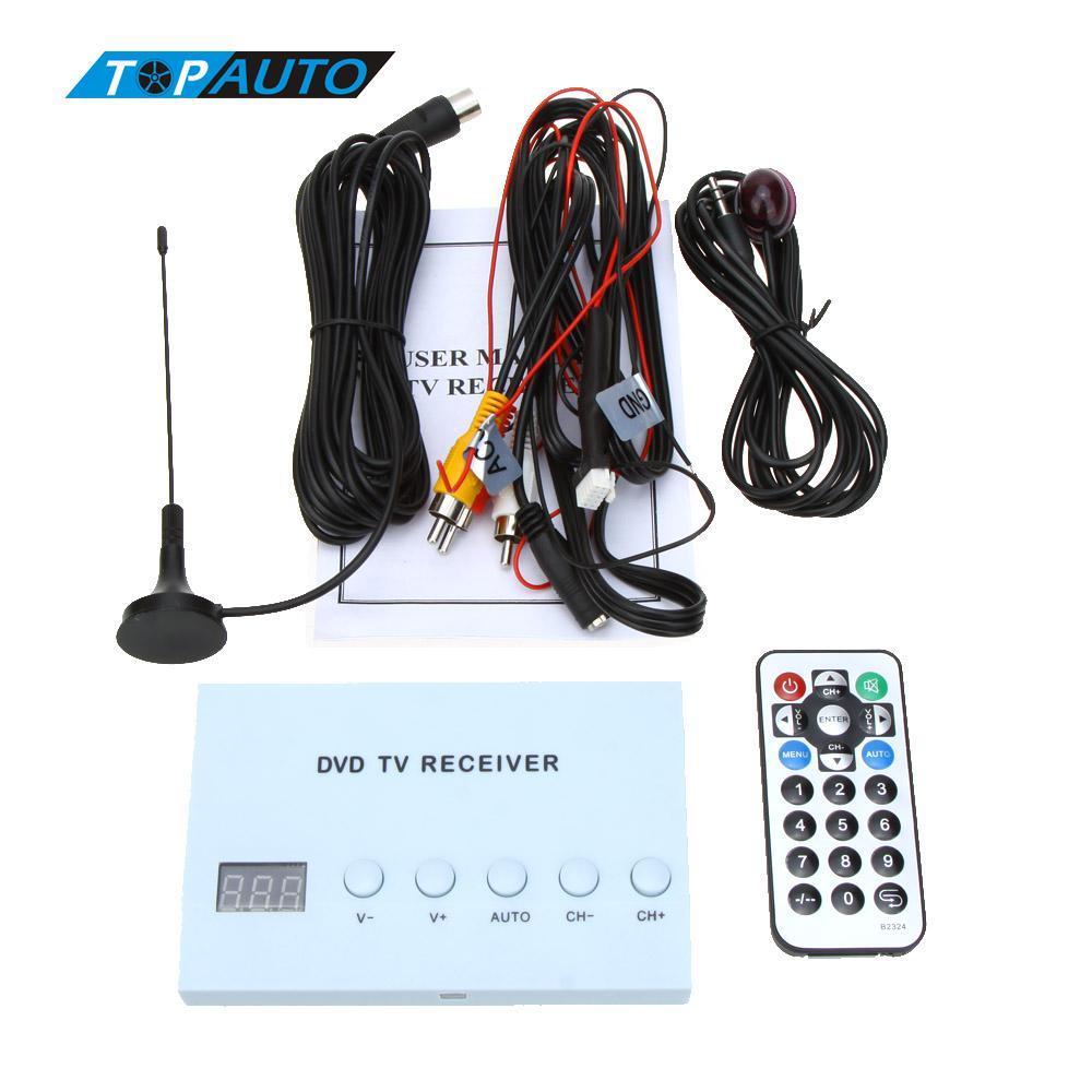 Sintonizzatore TV analogico TV satellitare con ricevitore auto digitale . Forte scatola di segnale con antenna