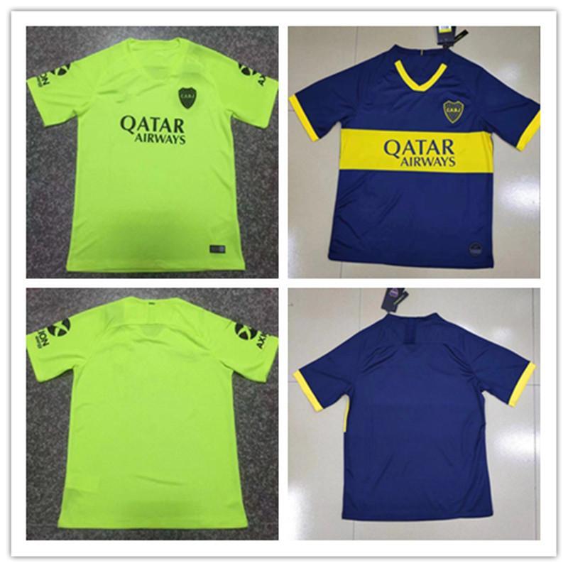 Best Of Super Juniors 2020 2019 New 2019/2020 Thailand Boca Juniors Home Third Green 2018
