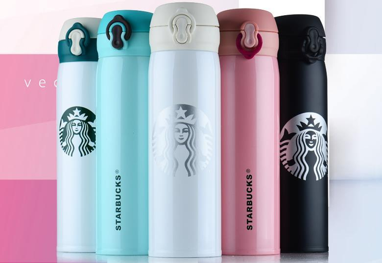 3ed3023bfe 450ml 350ml Classic Travel Tumbler Mug Stainless Steel Starbucks Coffee Cup  For Hot Cold Drinks Double Wall Water Bottle Boy Girl Gift A97 Online Water  ...