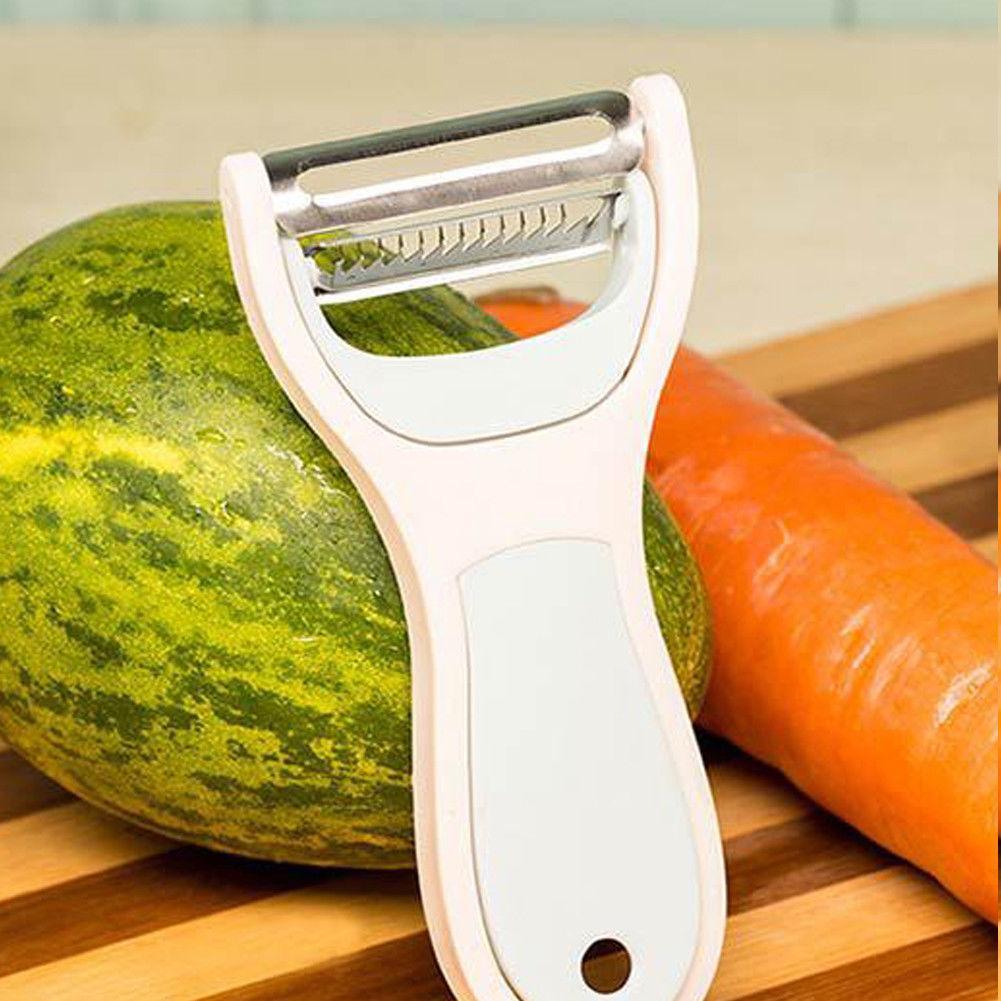 Vegetable Fruit Potato Ultra Sharp Peeler Slicer Cutter Ceramic Blade Kitchen UK