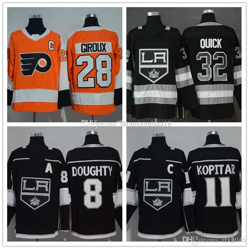 1d9ec407b2a 28 Claude Giroux Men s Los Angeles Kings 32 Jonathan Quick 8 Drew ...