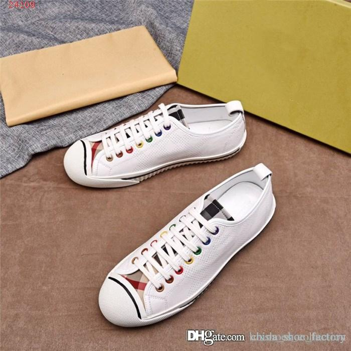 The latest model of men sports shoes Designer designs men shoes Matching colors, Outdoor leisure travel shoes Size 38-44