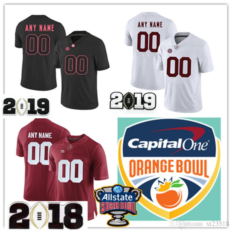 the best attitude 06003 220e7 Mens Custom Alabama Crimson Tide College Football Jerseys Stitched Red  White NCAA SEC Alabama Crimson Tide Personal Jersey S-3XL