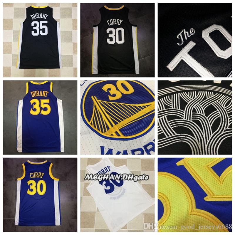 hot sale online 25a69 d76db Men Golden State Basketball Warriors 30 Stephen Curry Jerseys 35 ...