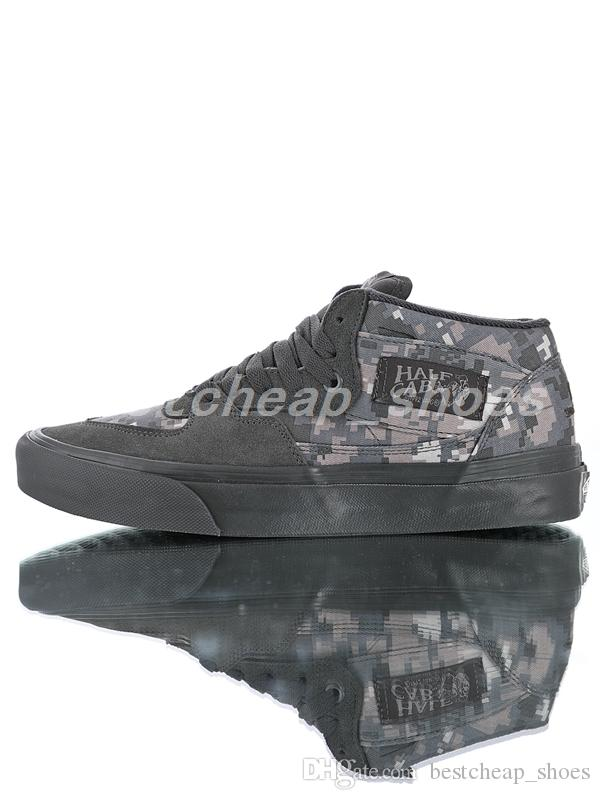 fe76c11a444e 2019 2019 New Vans X Wtaps Vault Half Cab LX Digi Camo Old Skool Women  Casual Shoes Skateboard Mens Canvas Sports Running Shoes Sneakers From ...