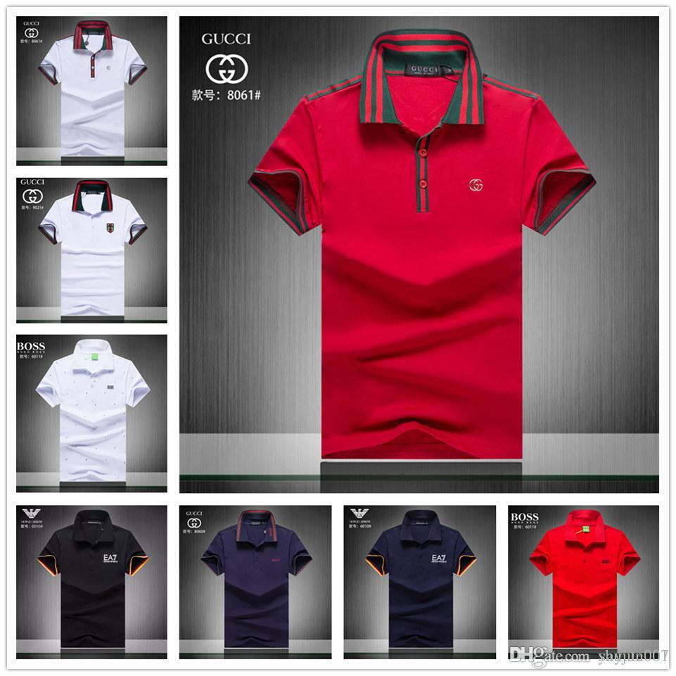 Best Mens Polo Shirts 2020 2019 2020 Fashion Style Men Polo Shirt Contrast Color Collar Short
