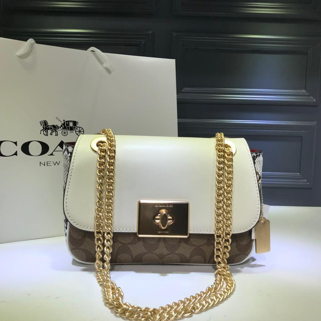 2019 Europe and the new fashion high-end wild Messenger bag portable small square bag shoulder bag high-end hot female80050