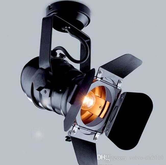2020 110 240V Vintage Edison Bulb Theater Spotlights