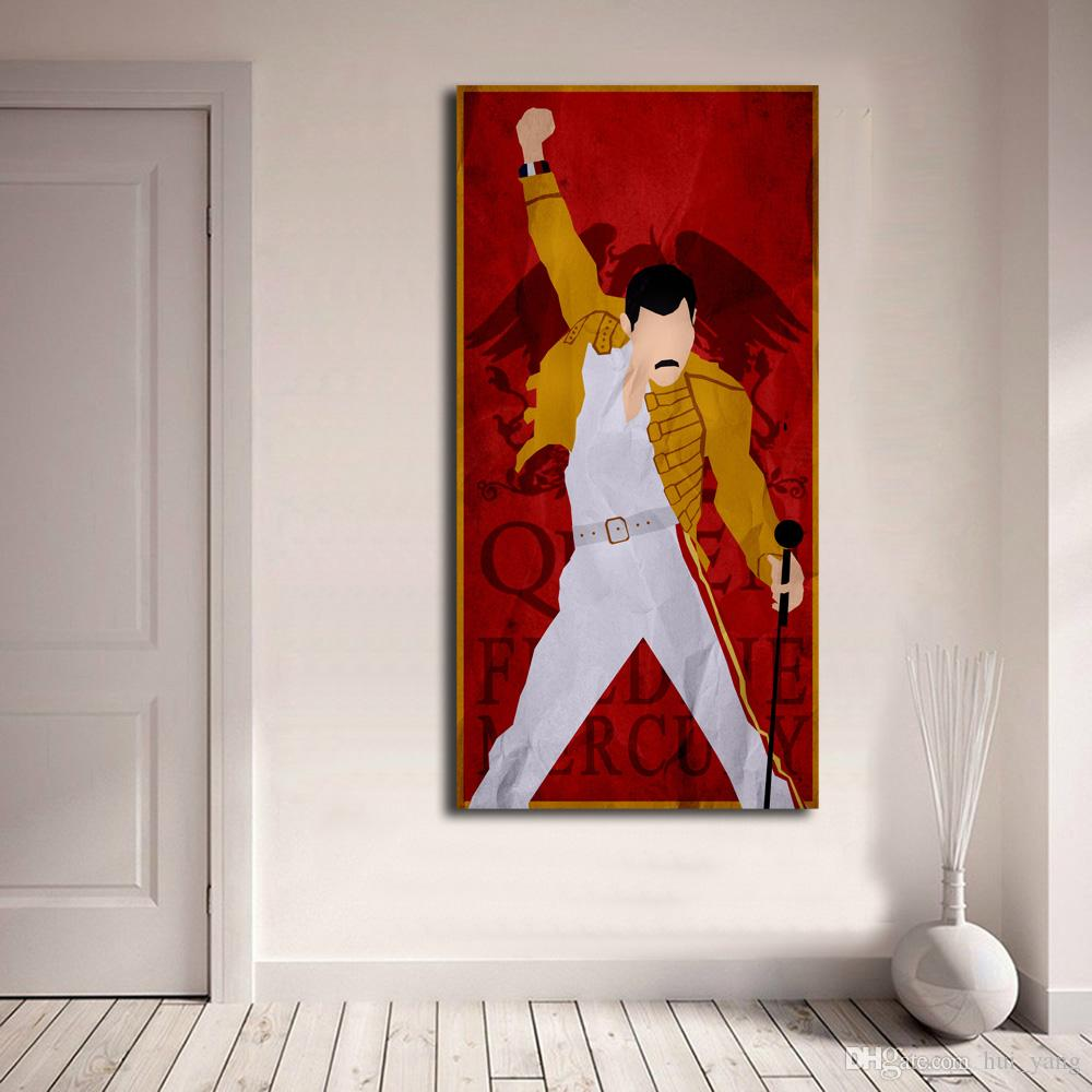Acheter Queen Band Rock Affiches Freddie Mercury Hd Impressions Sur