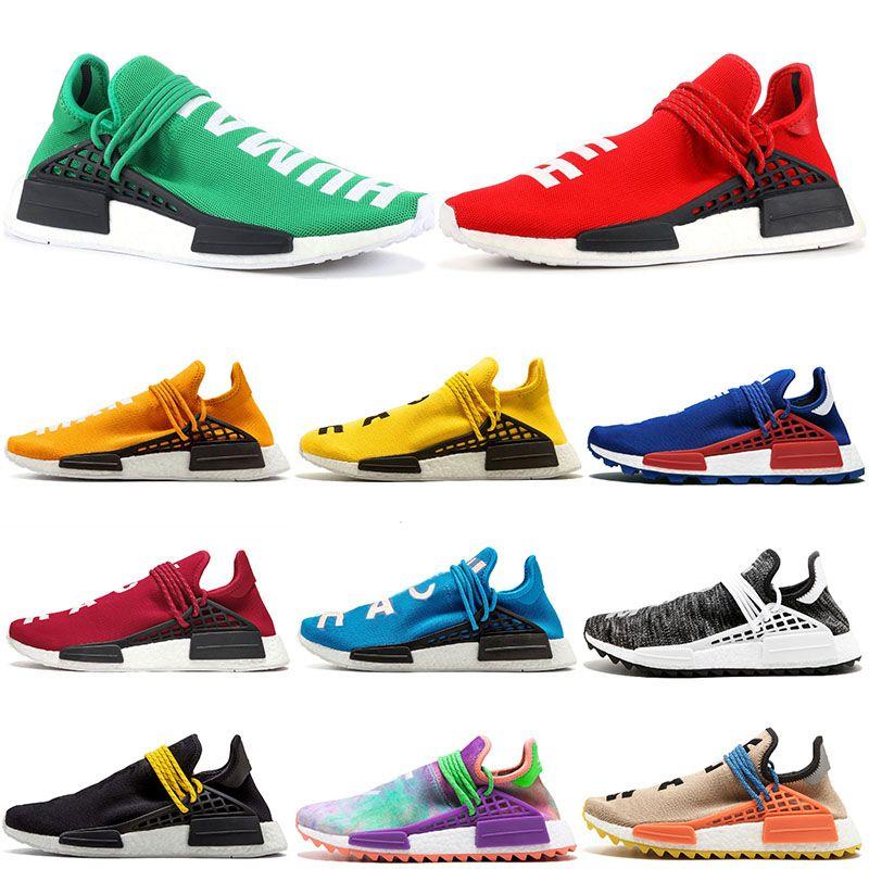 f42ab7647a1dc 2019 Pharrell Williams HU Runner NMD Human Race Trail Running Shoes ...
