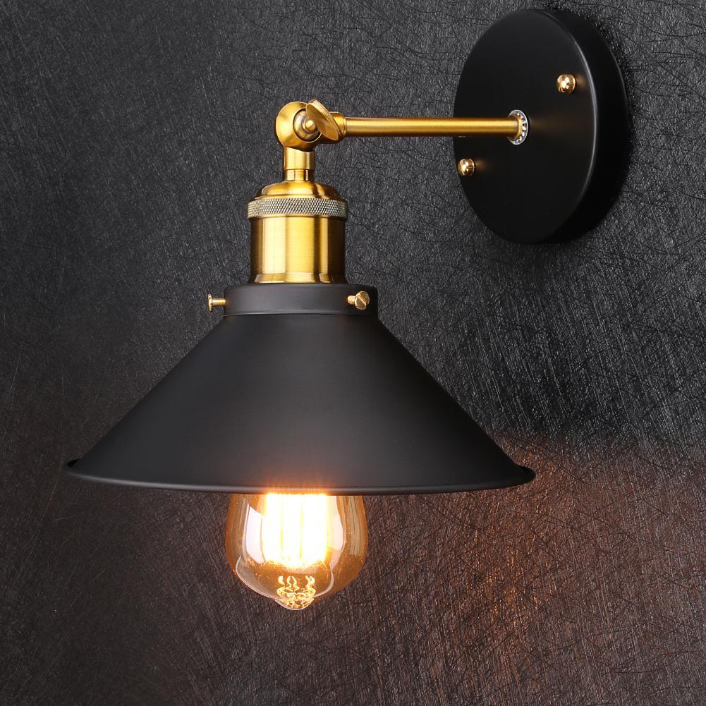 Acheter Vintage Loft Led Applique Pour La Maison Industriel Décor ...