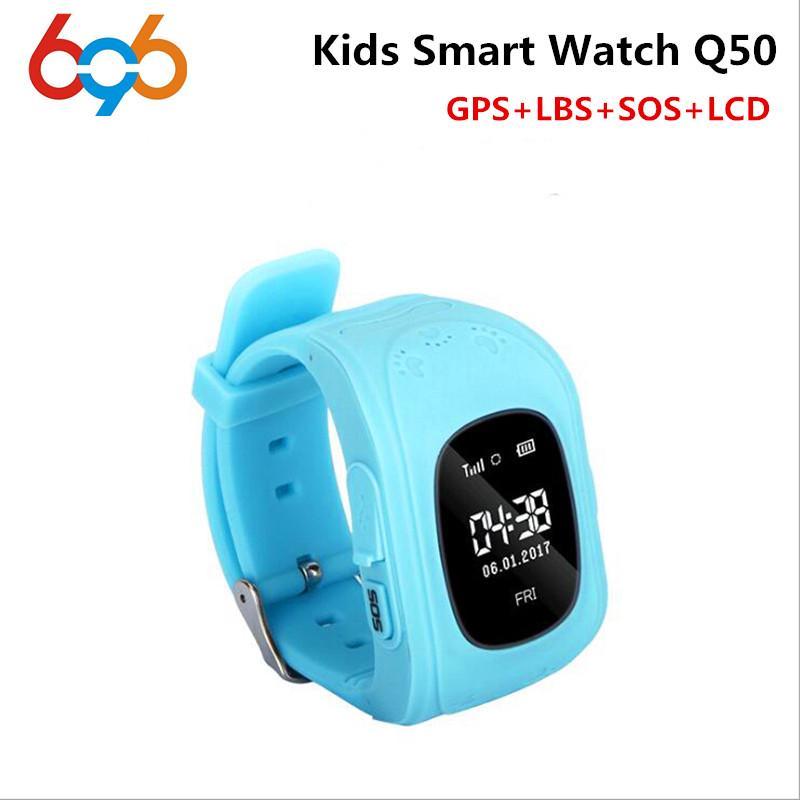 696 HOT Smart watch G36 Children Kid Wristwatch Q50 GSM GPRS GPS Locator  Tracker Anti-Lost Smartwatch Child for iOS Android