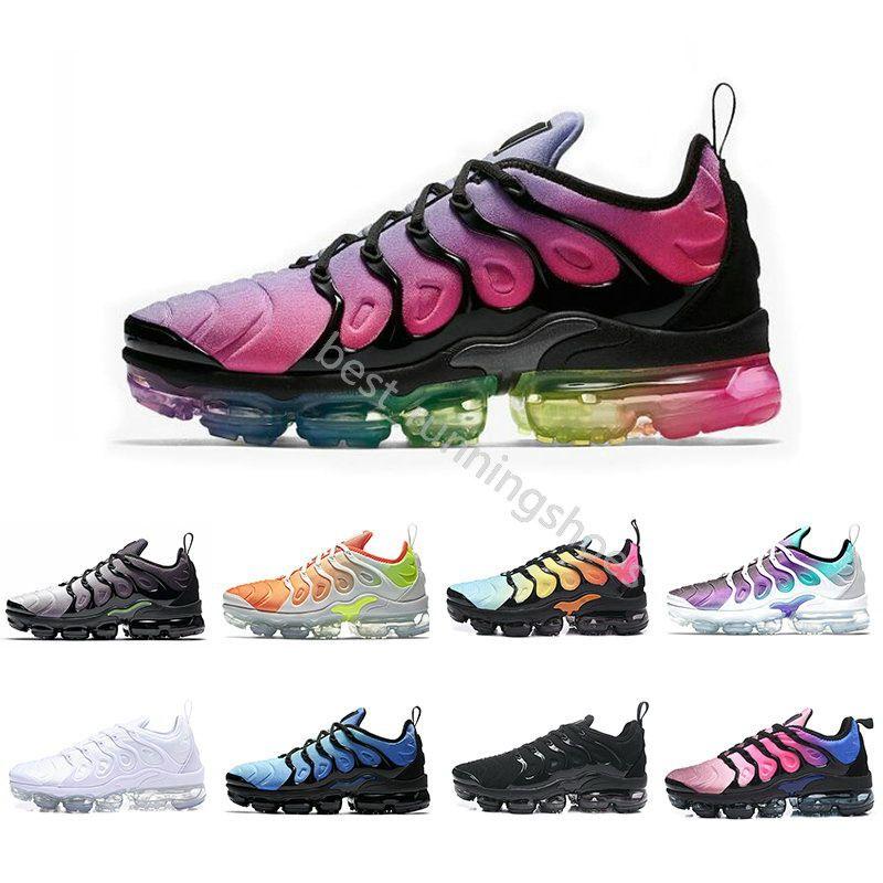 release date 89744 60800 2018 New Vapor Chaussures TN Plus Ultra Trader Joes Zapatillas Para Correr  Colorways Maxes Hombre Paquete Deportivo Tns Hombres Entrenadores  Zapatillas De ...