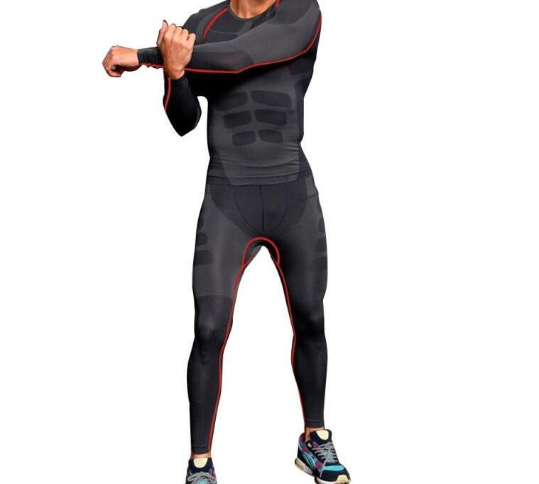 44dd9674a254 2019 Hot Men Athletic Pants Compression Running Sports Training Base Layers  Skin Tights Quick Dry From Meirao