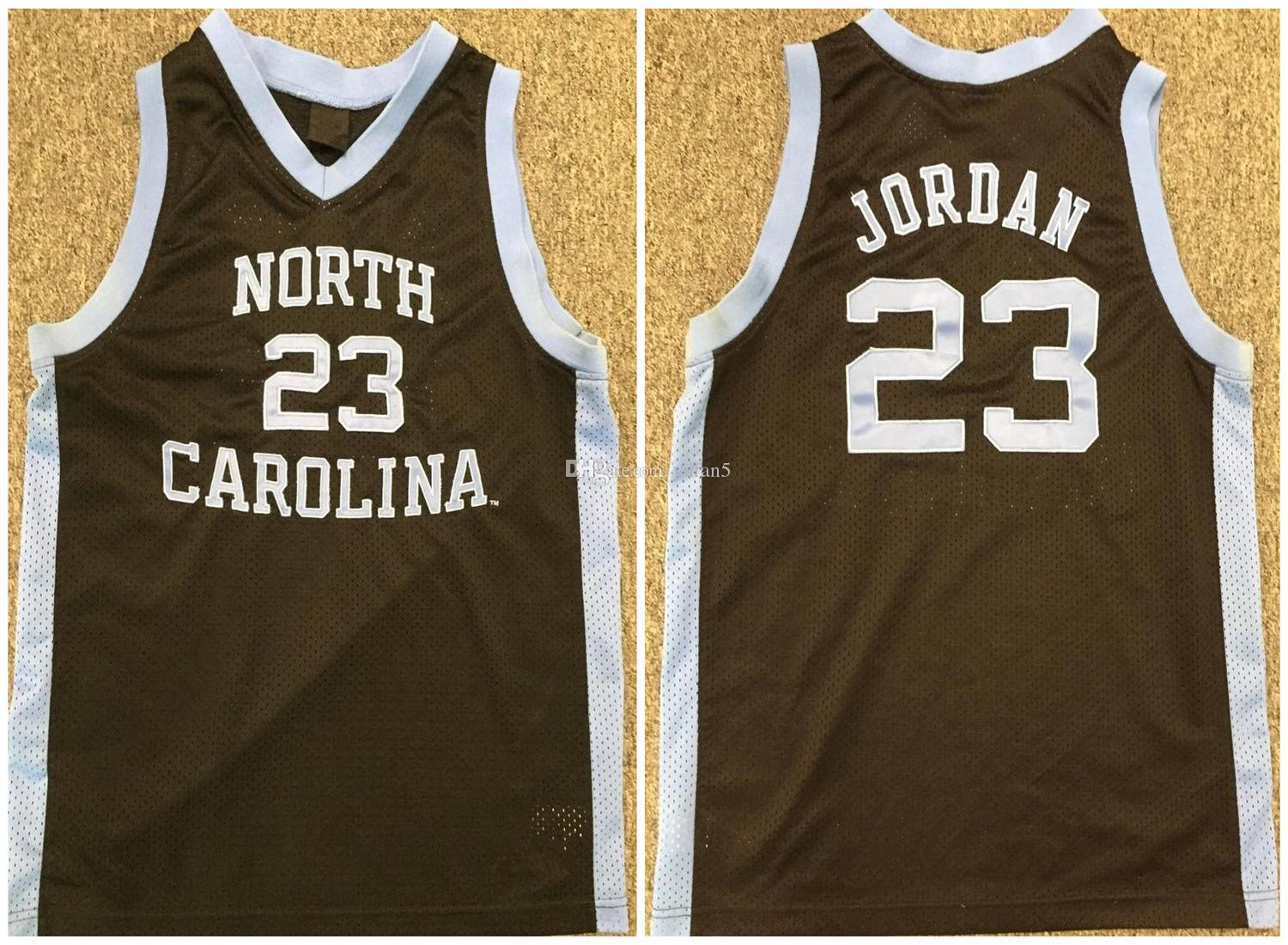 check out 7b90d 6af18 Michael MJ #23 North Carolina Tar Heels College 1982 Retro Basketball  Jersey Mens Stitched Custom Any Number Name Jerseys