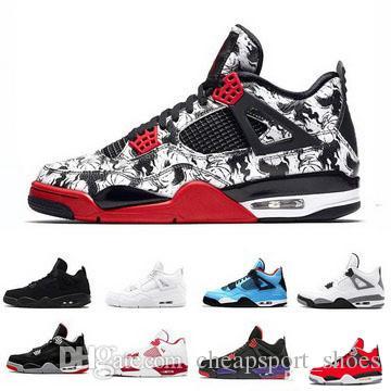 88fea6726f Compre Barato Sholesale 4 S Sapatos De Basquete Outlet Mens Tênis De ...