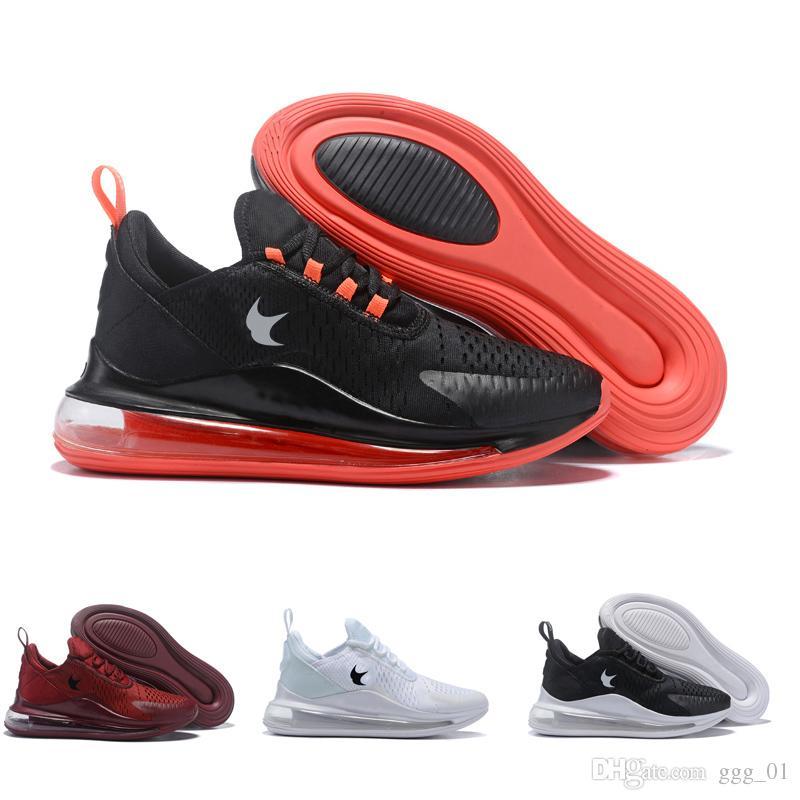 new product 3ea69 4846f Compre 2019 Hombres 720 Blanco Negro Rojo 270 Trainer Sports Running Racer  Shoes Zapatillas De Deporte Tamaño 40 45 A  96.51 Del Ggg 01   DHgate.Com