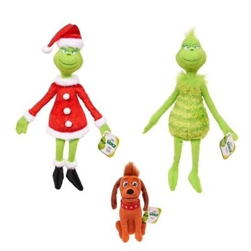 How The Grinch Stole Christmas Costumes.Grinch Mascot Plush Toy Movie How The Grinch Stole Christmas Cute Plush Toy Cartoon Doll Christmas Gift For Children