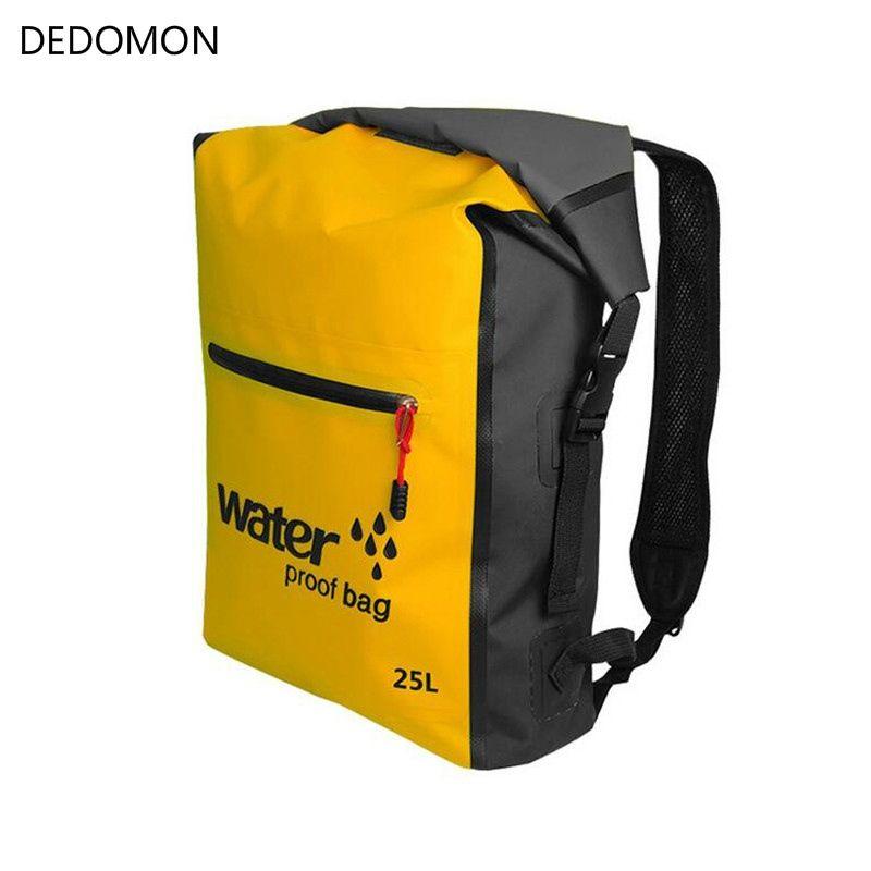 be3f207ee5 2019 25L Outdoor Waterproof Dry Bag Backpack Sack Storage Bag Rafting  Sports Kayaking Canoeing Swimming Bags Travel Kits Backpacks  221836 From  ...