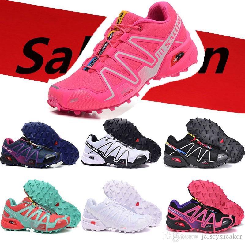 Scarpe da donna originali Salomon Speed Cross 3 CS zapatos Sneakers corsa Estate Outdoor Sport Jogging Speedcross Athletics Scarpe taglia 36 41