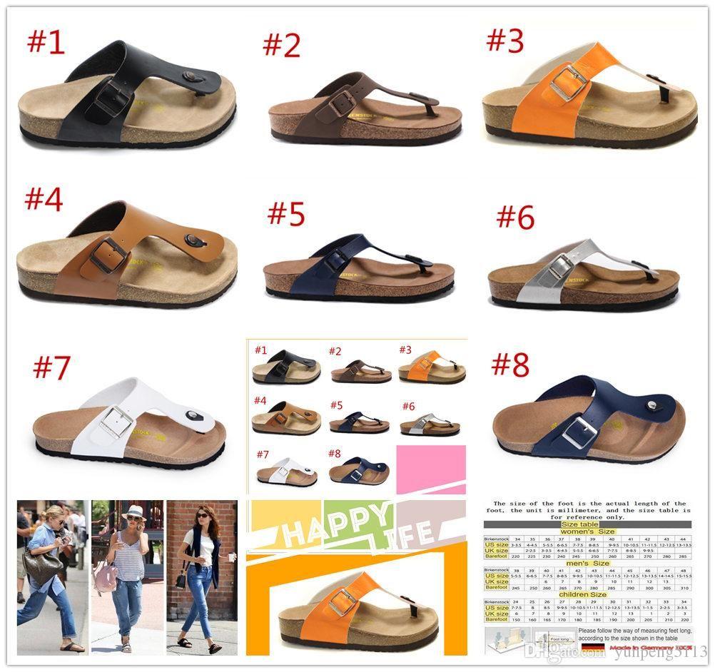 4a1aba6d5ba2 Gizeh 2019 New Summer Beach Slipper Flip Flops Sandals Women  MEN ...