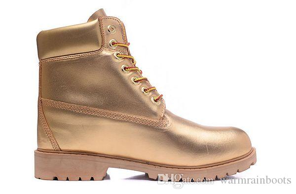 BEST QUALITY AND PRICE TBL BOOTS 10061 ALL GOLD FOR MEN COW LEATHER WATERPROOF WORK BOOTS COWBOY 6INCH FOOTWEAR WITH FREE QUICK EXPRESS