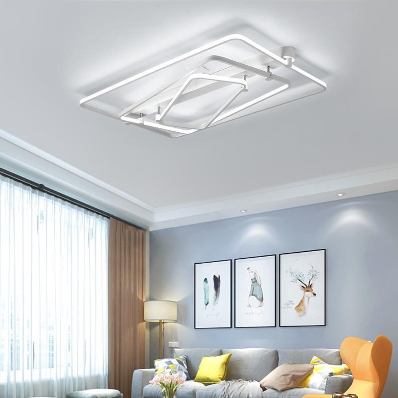 2019 Acrylic Modern Home Led Ceiling Lights For Living Room Bedroom