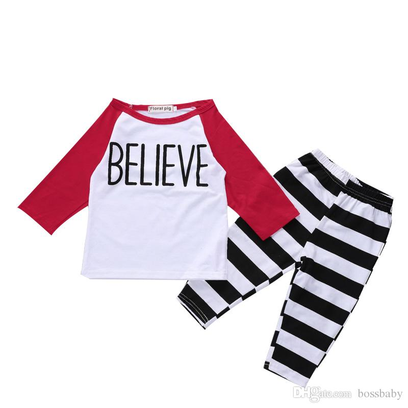 6e5568bb5 2019 Baby Boy Clothing Sets Casual T Shirt Pants Clothing Two Piece Suit  Cotton Suit Outfits For Newborn Infant Clothing 48 From Bossbaby, $6.31 |  DHgate.