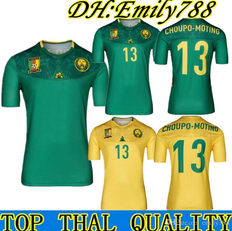 pretty nice e62b1 af8a7 2019 2020 WM Kamerun Trikot 19 20 Nationalmannschaft Vincent Aboubakar  Benjamin Männer Heimtrikot2019 Kamerun Socce