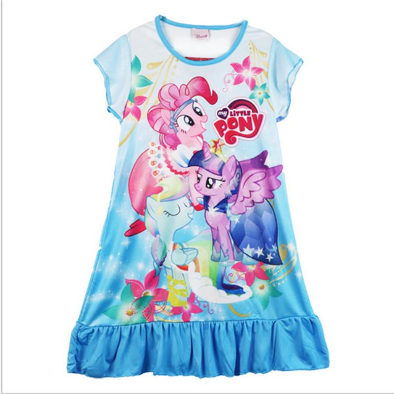 3fd48942c803 2019 Kids Summer Dresses Baby Girls Short Sleeve One Piece Dress ...