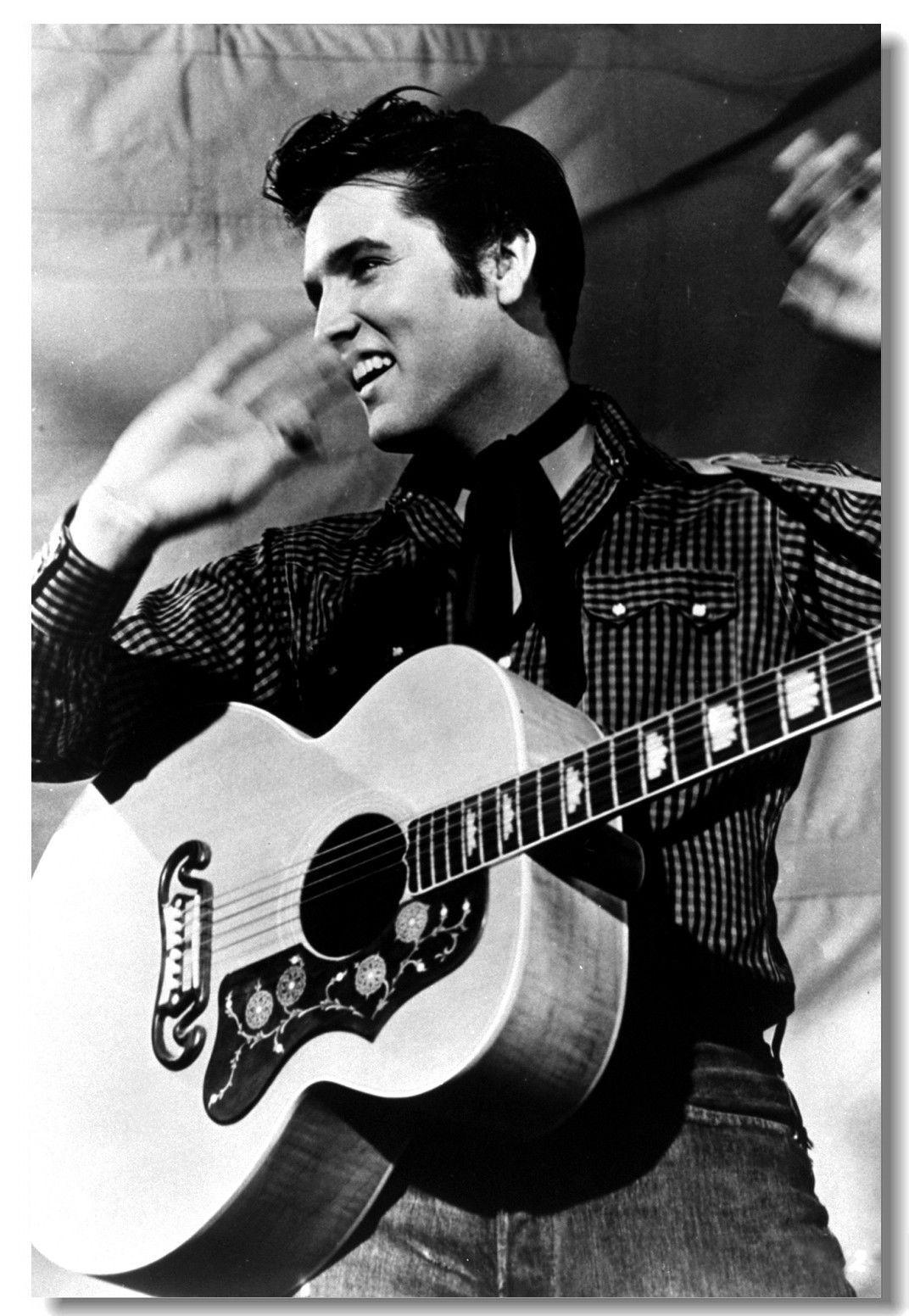 Elvis Presley Pop Singer Star Room Club Art Silk Poster 24x36inch