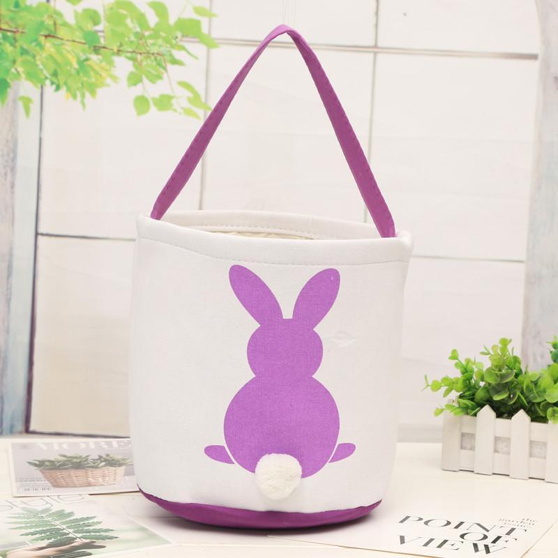 ac40604ee4c1 Easter Eggs Baskets DIY Rabbit Burlap Bags Bunny Storage Bag Jute Rabbit  Ears Basket Cute Easter Gifts Storage Bag Rabbit Ears Decor Easter Online  with ...