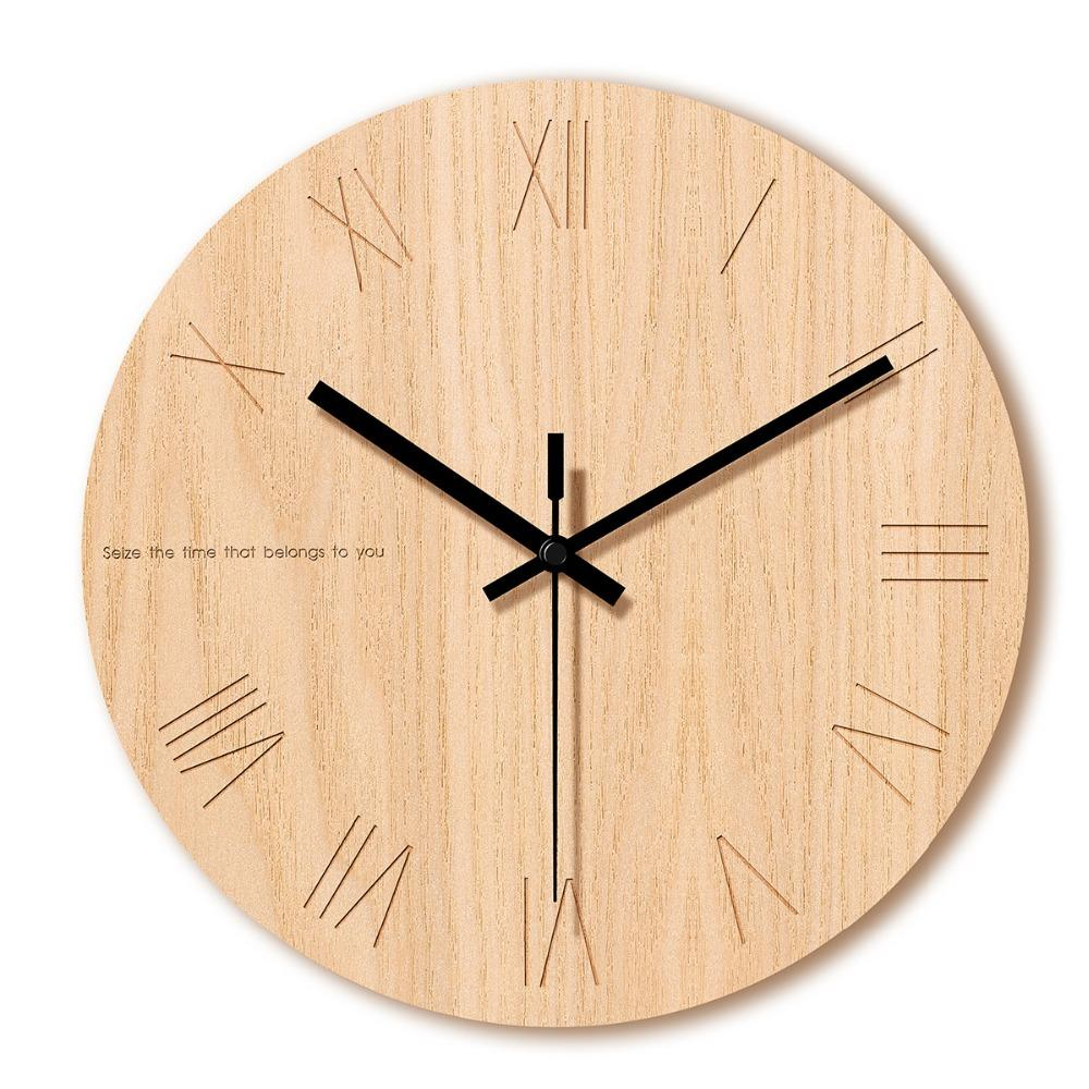 Living Room Creative Art Tempered Glass Clock Home Stereo Printing Digital Clock Modern Minimalist Large Wall Gift