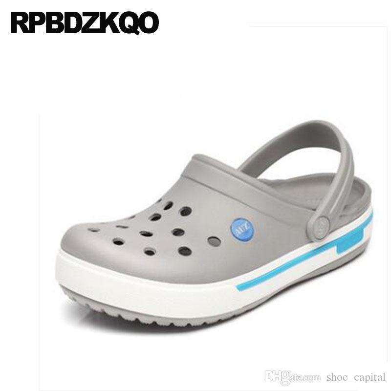 De Zapatos Compre Goma Para Hombres Zueco Cerrados UMSVpjqLzG