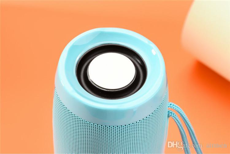 TG Series TG157 LED Light Flash Night Lampada Wireless Bluetooth Mini Subwoofer stereo protable USB TF Card Altoparlante Mp3 Lettore musicale