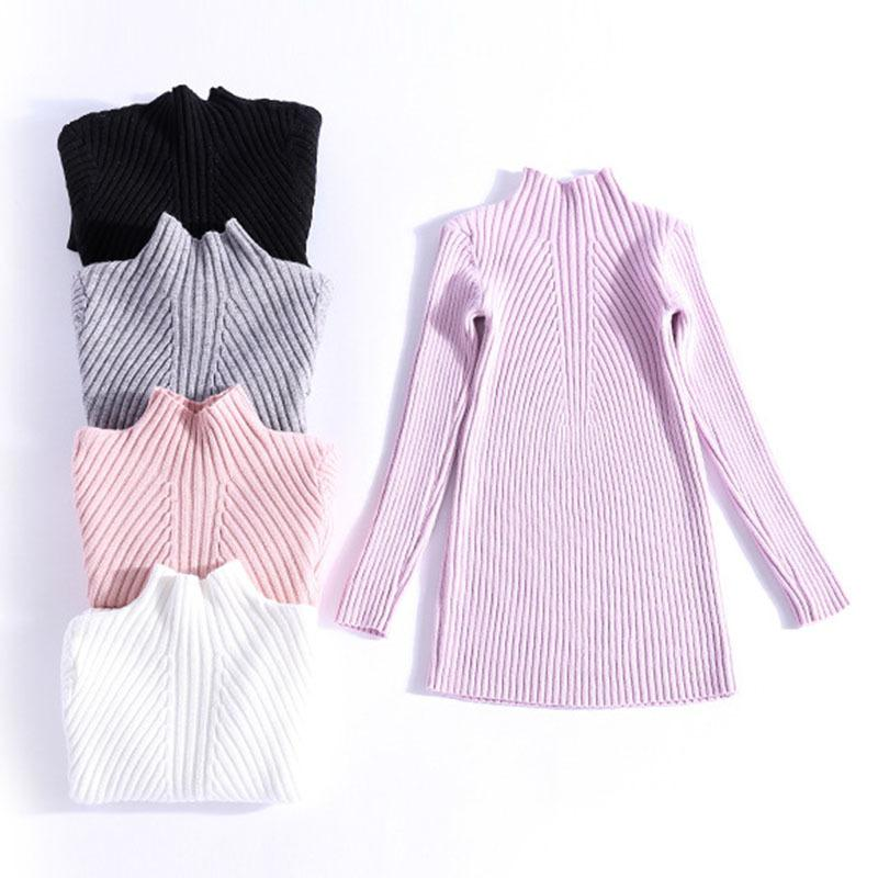ed5620167ed8 2019 Sweater Baby Cardigan Solid Baby Girl Winter Clothes Fashion ...