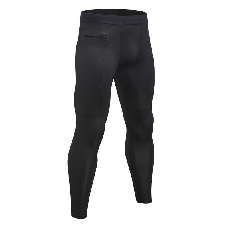 Pure Colors Pants Running Tights Men Soccer Training Pants Fitness Sport Leggings Men Gym Jogging Trousers Sportswear