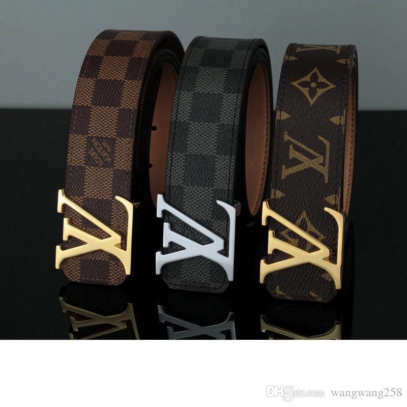 7f3a0e732647 NEW CLOUIS Vuitton 1 1 AJ LEATHER BELTS GG MEN LOUIS FASHION BELTS ...